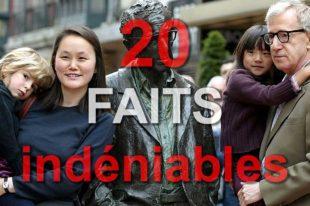 Woody Allen: abus sexuel de Dylan Farrow, 20 faits indéniables
